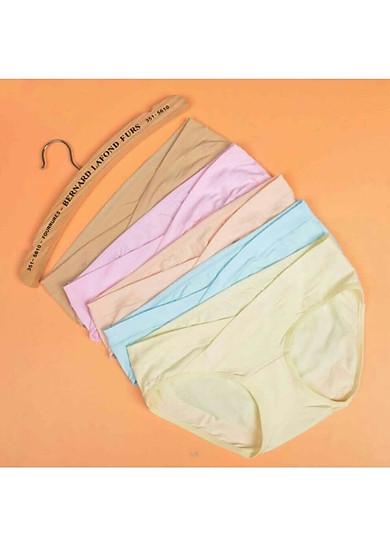Set 5 quần lót bầu cạp chéo- Cotton mềm