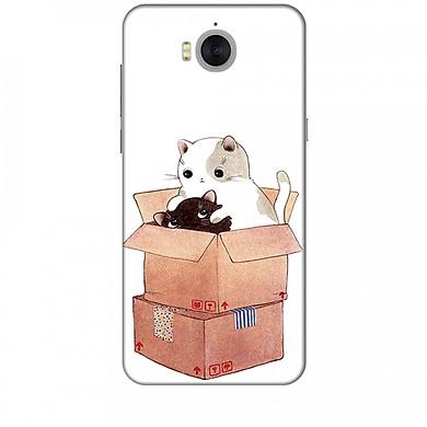 Ốp lưng dành cho điện thoại HuaweiY5 2017 Mèo Con Dễ Thương