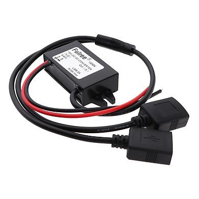 8-60V Đến 5V 3A Module Nguồn Volt Inverter Ban, 2 Cổng Kết Nối USB