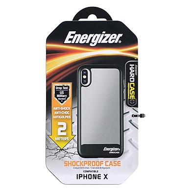 Ốp Lưng Energizer Chống Sốc 2m Cho iPhone X ENCOSPIP8BK  - Hàng Chính Hãng