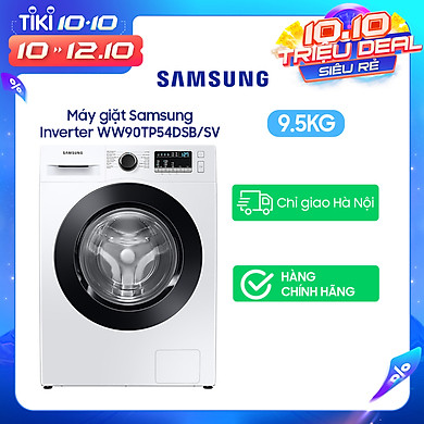 Máy Giặt Samsung Inverter 9.5kg WW95T4040CE/SV – Chỉ Giao Hà Nội