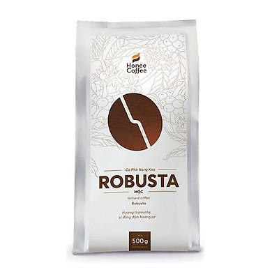 Cà Phê Hạt Rang Xay Robusta Pha Phin/Pha Máy Honee Coffee
