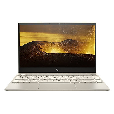 """Laptop HP ENVY 13-AQ0026TU (Intel Core I5-8265U  8GB RAM DDR4  256GB SSD  13,3"""" FHD WIN10 HOME Pale gold-6ZF38PA) - Hàng Chính Hãng"""