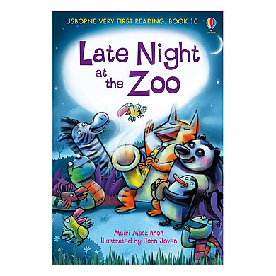 Usborne Very First Reading: 10. Late Night at the Zoo