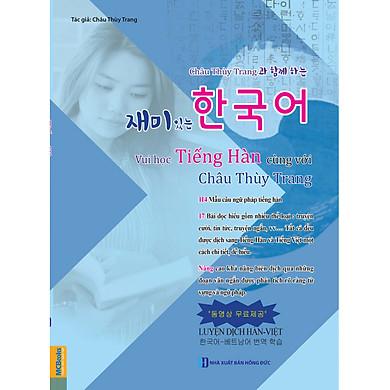 Vui Học Tiếng Hàn Cùng Với Châu Thùy Trang ( tặng kèm bookmark TH )