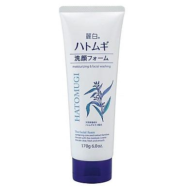 Sữa rửa mặt trắng da Hatomugi 170g – hàng nội địa Nhật