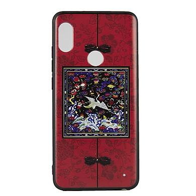 Ốp lưng Xiaomi Redmi Note 5 Pro /Note 5 Diên Hi - Đỏ vuông - Hàng chính hãng