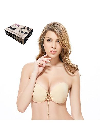 Áo ngực không dây Áo dán nâng ngực cao cấp - màu da