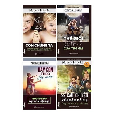 Combo Để Tuổi Nào Bố Mẹ Cũng Hiểu Con (Bộ 4 Cuốn Cha Mẹ Khéo + Tặng Kèm Săn Sóc Sự Học Của Các Con)