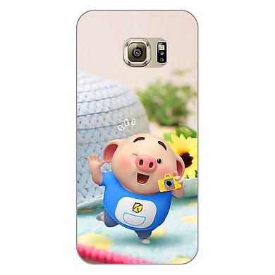 Ốp lưng dẻo cho điện thoại Samsung Galaxy S7 Edge _0318 Pig 23