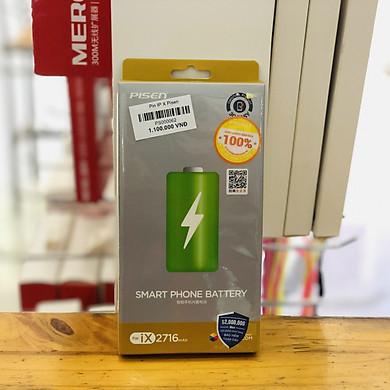Pin dành cho iPhone X Pisen Hàng Chính Hãng