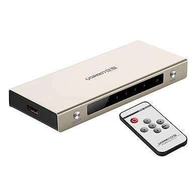 Bộ Swich Cổng HDMI Ugreen Vào 5 Cổng HDMI Ra 1 Cổng HDMI Remote 40279 - Hàng Chính Hãng