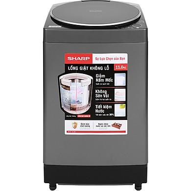 Máy giặt Sharp 11 kg ES-W110HV-S - Chỉ giao HCM