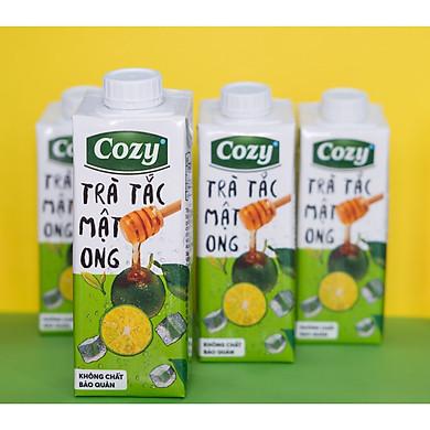 Trà Tắc Mật Ong Cozy - Lốc 4 hộp