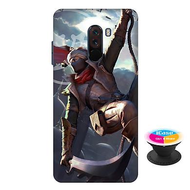 Ốp lưng nhựa dẻo dành cho Xiaomi Pocophone F1 in hình Murad Lãng Khách Thời Không - Tặng Popsocket in logo iCase - Hàng Chính Hãng