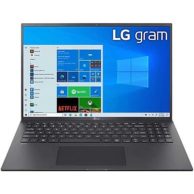 Laptop LG Gram 2021 16Z90P-G.AH75A5 (Core i7-1165G7/ 16GB LPDDR4X/ 512GB SSD NVMe/ 16 WQXGA IPS/ Win10) – Hàng Chính Hãng