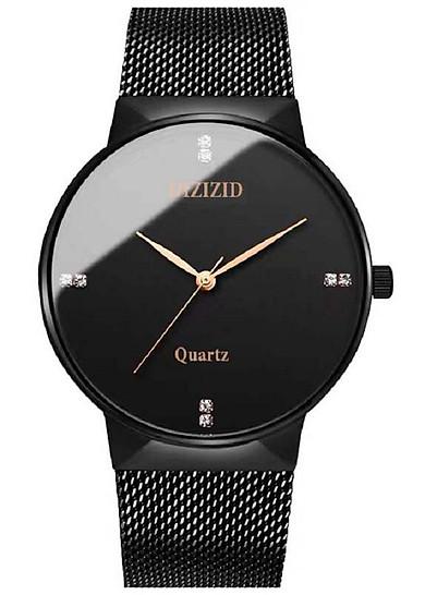 Đồng hồ nam DIZIZID dây thép lưới số đính đá Mẫu HOT&NEW năm nay DZD011