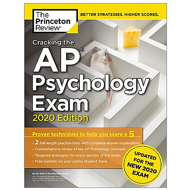 Cracking The AP Psychology Exam, 2020 Edition (College Test Preparation)