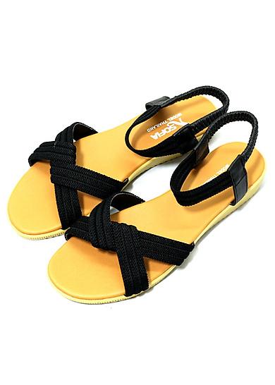 Giày sandal nữ quai chéo thời trang T041K35
