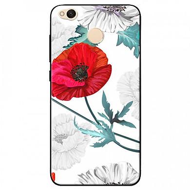 Ốp lưng dành cho Xiaomi Redmi 4X mẫu Hoa anh túc