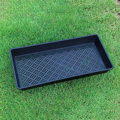 Bộ 10 Khay trồng rau mầm thủy canh MAM-104, Khay đựng bầu ươm cây, Sàng phơi đồ, hình chữ nhật