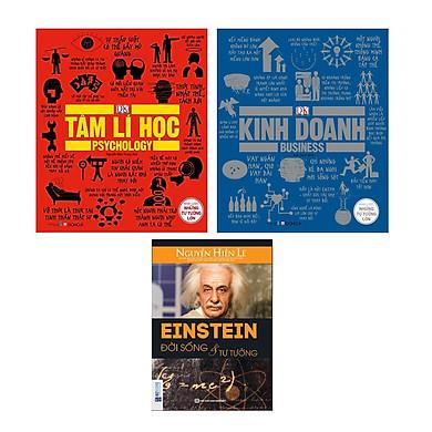 Combo Khái Lược Những Tư Tưởng Lớn Tâm Lý Học Và Kinh Doanh Tặng Kem Cuốn Einstein - Đời Sống Và Tư Tưởng