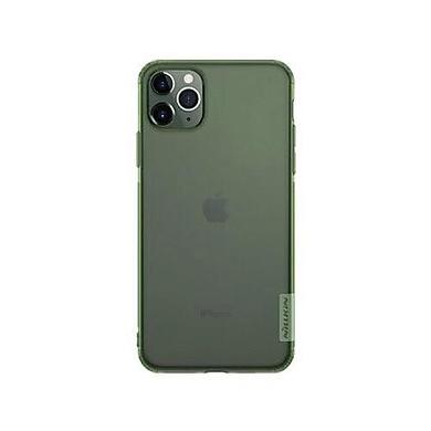 Ốp lưng Silicon Nillkin cho  iPhone 11/ 11 Pro/11 Pro Max (xanh rêu) Hiệu Nillkin - Hàng chính hãng