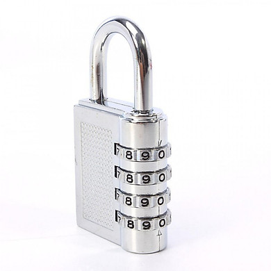 Ổ khóa mã số dọc inox (Có thể thay đổi mã khóa)