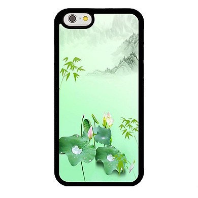 Ốp lưng dành cho Iphone 6s Sen Hồ Xanh - Hàng Chính Hãng