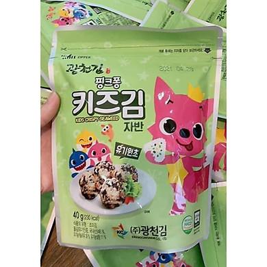 Rong biển Organic Pink Fong Hàn Quốc cho bé - Rong biển vụn