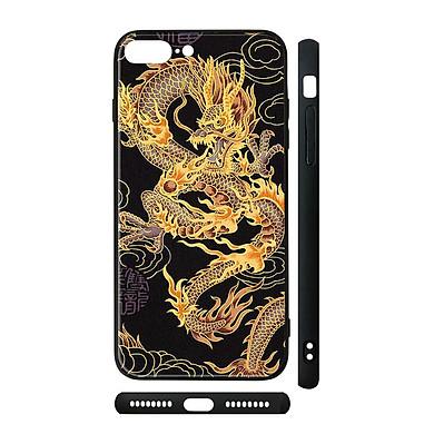 Ốp kính cho iPhone in hình Rồng Dragon - dra011 (có đủ mã máy)