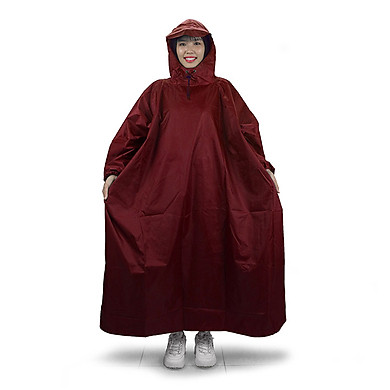 Áo mưa bít người vải dù tổ ong cao cấp freesize