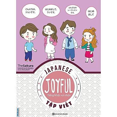 Joyful Japanese - Tiếng Nhật vui nhộn (Tặng Bookmark độc đáo CR)