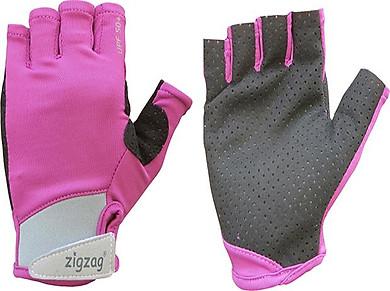 Găng tay thể thao chống nắng UPF50+ tím đen Zigzag GLV00414