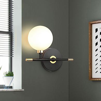 Đèn gắn tường trang trí hiện đại gắn ngang 1 quả cầu V8891