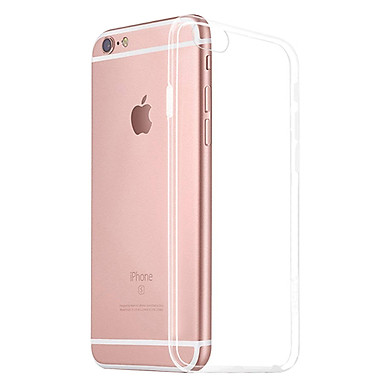 Ốp Silicon Dẻo Trong Suốt Cực Mỏng Dành Cho iPhone 6 / 6S