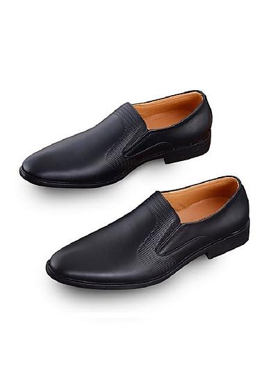 Giày Da Nam Cao Cấp UDANY – Giầy Tây Nam Da Bò Thật 100% – Giày Lười Nam – Mã GLN01