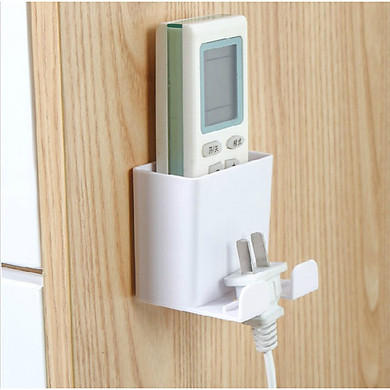 Kệ đựng remote máy lạnh đa năng treo Sạc Điện Thoại tiện dụng GD153-KRKTSac
