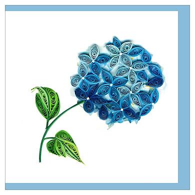 Thiệp Giấy Xoắn GX Flower Việt Net VN2XM110128NN (10 x 10 cm)