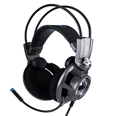 Tai nghe chơi game Somic G954, âm thanh giả lập 7.1, rung phản hồi, đèn LED, Microhone, chân cắm USB - Hàng chính hãng