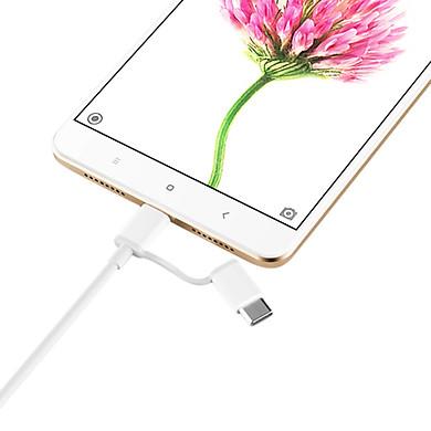 Dây Cáp Sạc Đa Năng 2 Trong 1 USB Type-C / Micro USB Xiaomi (1m) – Hàng Chính Hãng