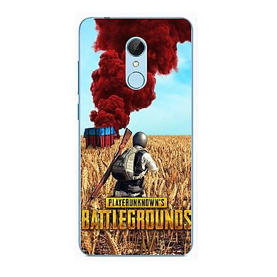 Ốp lưng dành cho Xiaomi Redmi Note 5 (Redmi 5 Plus) - Battlegrounds Nhà Cháy
