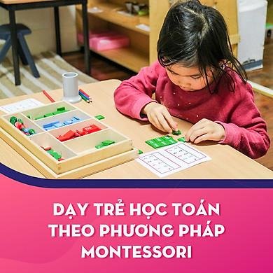 Khóa học Dạy trẻ học toán theo phương pháp Montessori - KYNA FOR KIDS