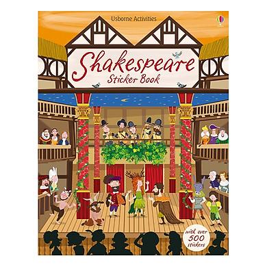 Usborne Shakespeare: Shakespeare Sticker Book