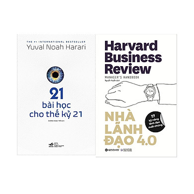 Combo Nhà Lãnh Đạo 4.0+ 21 Bài Học Cho Thế Kỷ 21