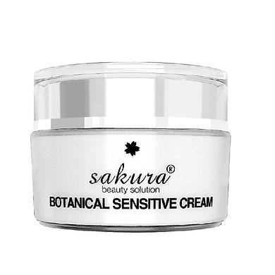 Kem Dưỡng Dành Cho Da Nhạy Cảm và Phục Hồi Hư Tổn Sakura Botanical Sensitive Cream