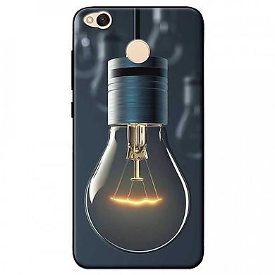 Ốp lưng dành cho Xiaomi Redmi 4X mẫu Bóng đèn