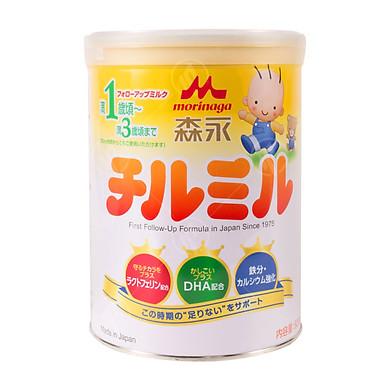Sữa bột công thức Morinaga Hagukumi Milk Step 2 cho bé từ 1 đến 3 tuổi (820g) - Nhập khẩu Nhật Bản