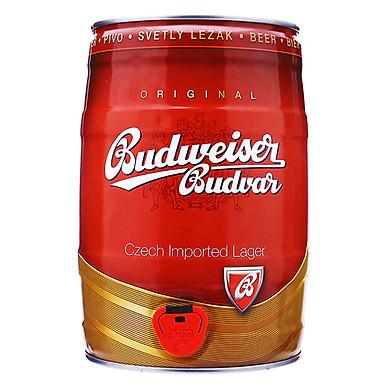 Bia Bom Budweiser Budvar (5L / Bom)