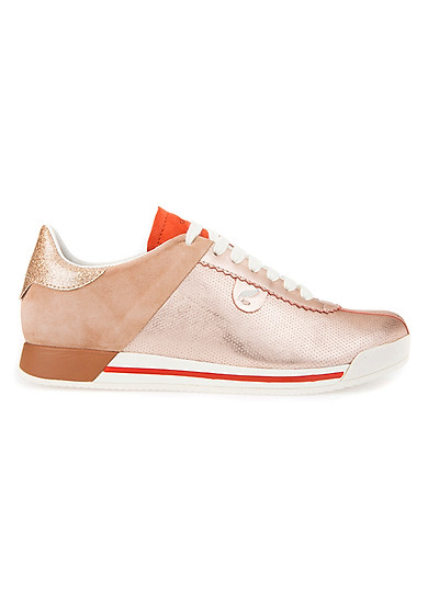 Giày Sneakers Nữ Geox D Chewa A D724MA - Rose GoLD/Dk Skin